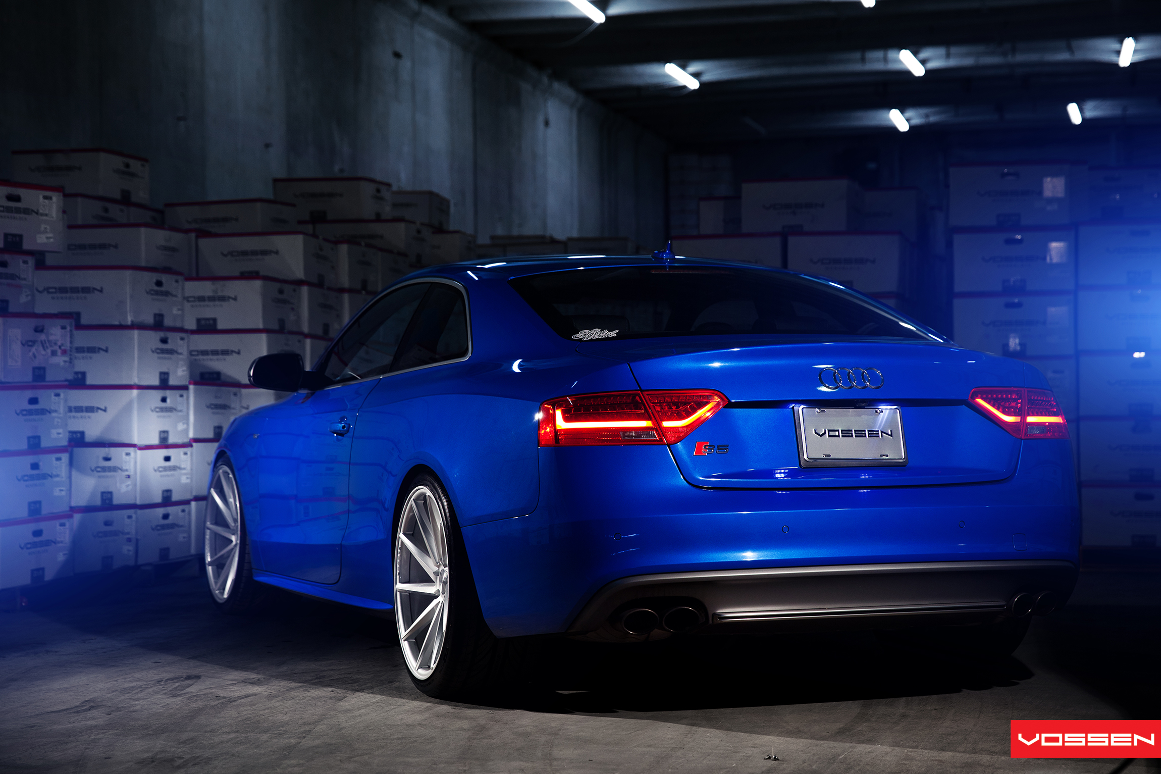 AUDI S5 On VOSSEN CVT Photo Gallery VOSSEN JAPAN