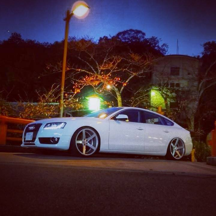 Oさま:AUDI A5 with VOSSEN CV3