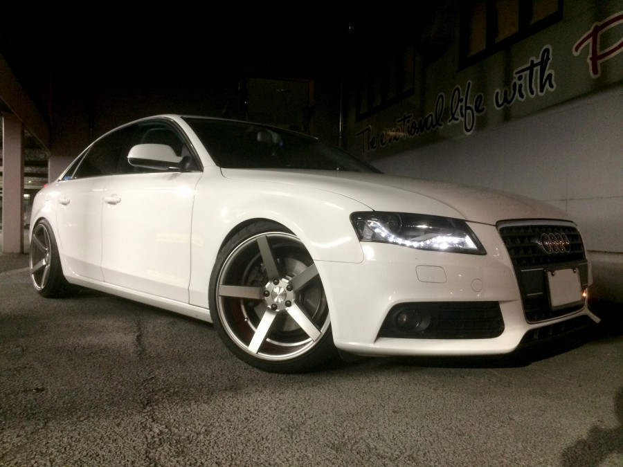 Audi A4 with CV3 from : ガル君