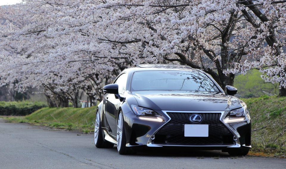 LEXUS RC350 x HF4-T from : satoさん